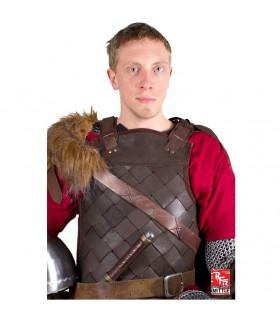 Armadura vikinga en cuero