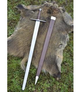 Espada Medieval larga con vaina, funcional