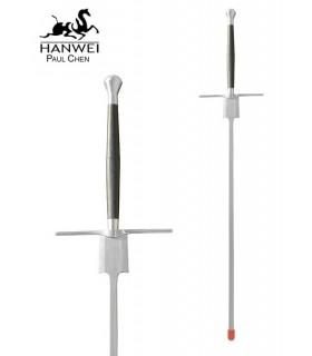 Espada larga para practicar esgrima