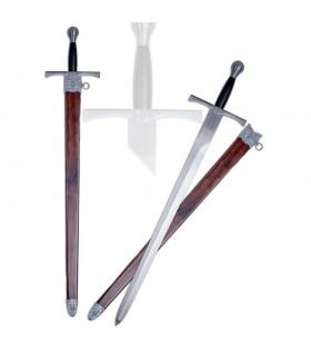 Espada medieval una mano con vaina