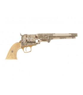 Revólver de la marina de EUA fabricado por S. Colt, 1851