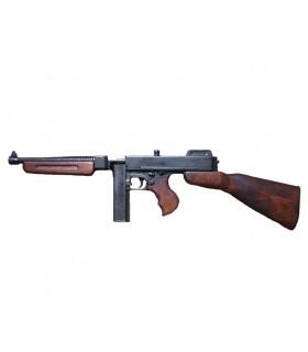 Thompson Maschinenpistole mit Magazin, USA 1928