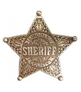 Estrella Sheriff 5 puntas