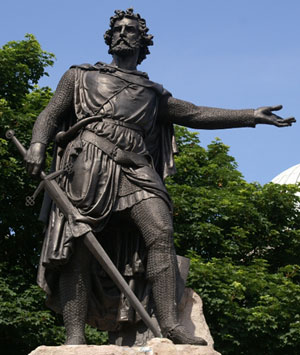 william wallace William Wallace y su espada mandoble