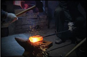 Process for manufacturing a Hanwei katana   Medieval Store ...