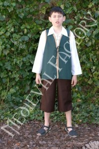 Medieval costume for boys