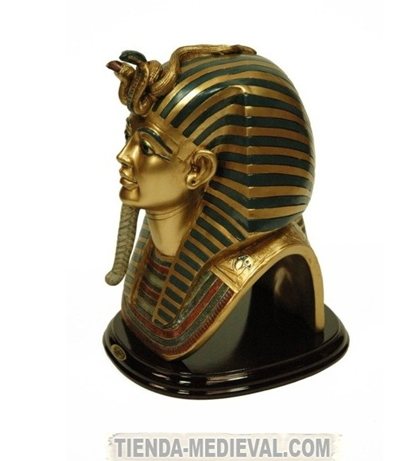 Figura mscara egipcia Tutankhamn Preciosas figuras egipcias para decorar