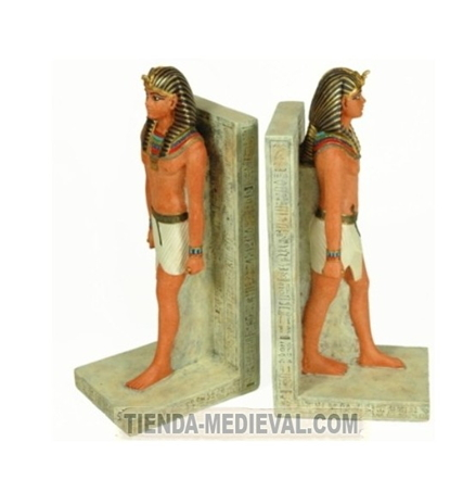 Sujetalibros Ramss II Preciosas figuras egipcias para decorar