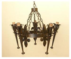 Medieval royal lamp