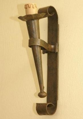 lampadari medievali : Forgia Medievale: Appliques, lampade, torce ?Negozio-Medievale