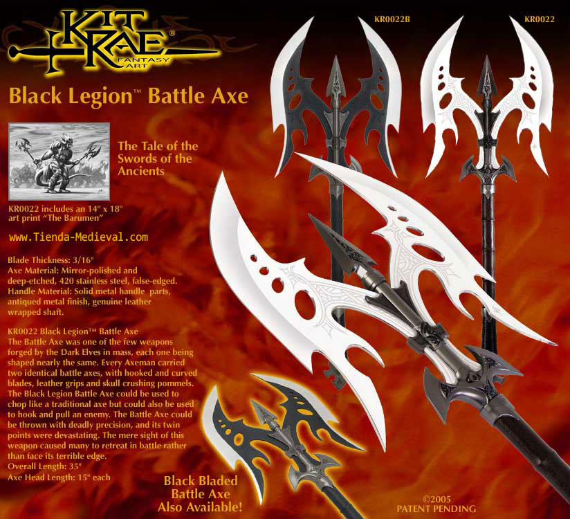 Hacha Legion de Kit Rae