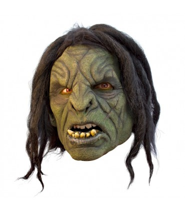 Máscara Orco con pelo