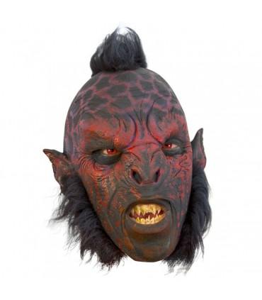 Máscara Orco Carnal con pelo