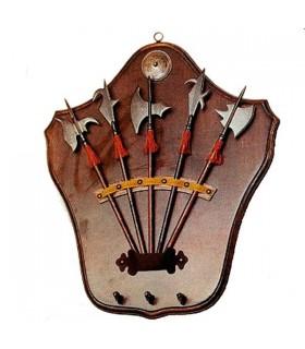 Soporte medieval para colgar llaves