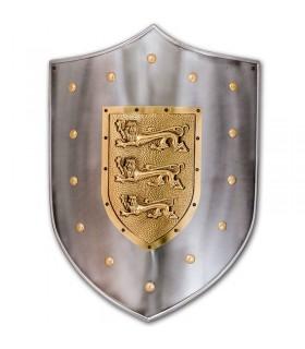 Escudo metal Leones