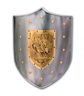 Guerrero mittelalterlichen Schild