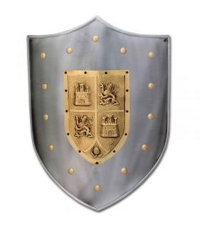 Schild mittelalterlichen Kastilien und Leon