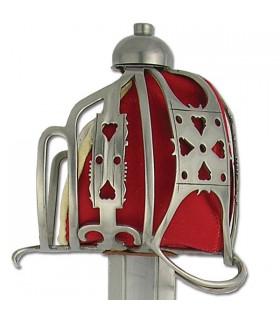 Espada inglesa de cesta, s. XVII-XVIII