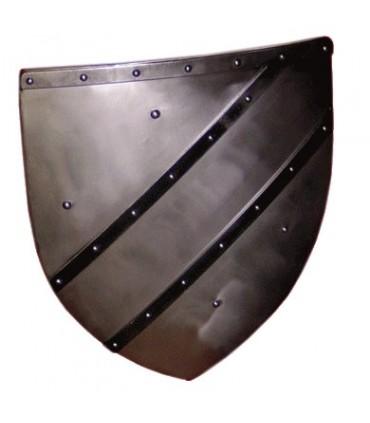 Escudo funcional Gótico decorado