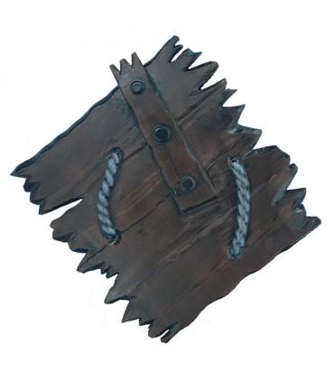 Escudo Vikingo Orco látex, 80 cms.
