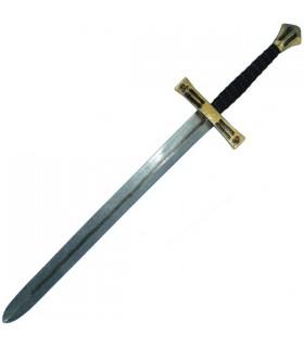 Schwert Kreuzfahrer Latex, 110 cm.