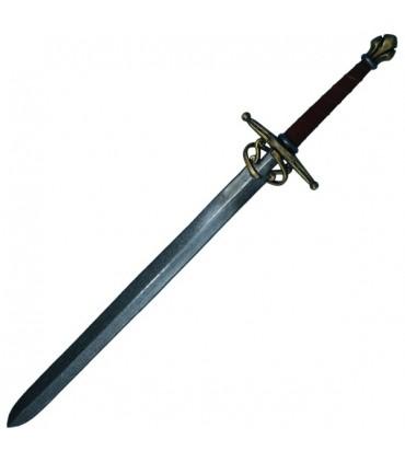 Espada Noble en látex, 110 cms.