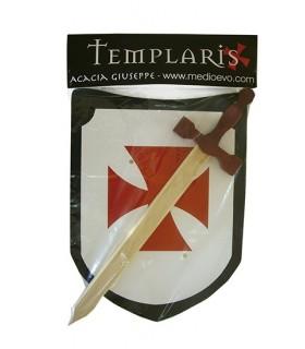 Set espada y escudo templario