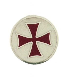 Broche Cruz Templaria