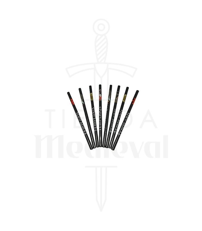 Lápiceros templarios-12 unidades