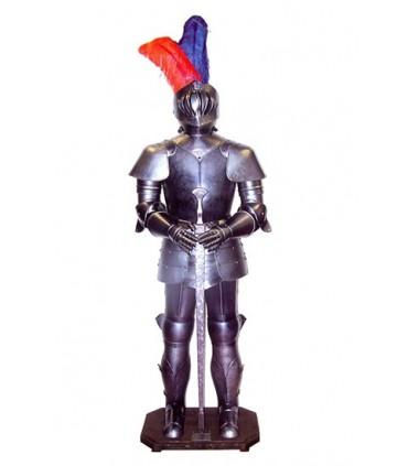 Armadura medieval con espada