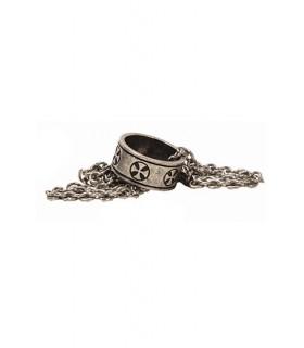 Colgante anillo templario
