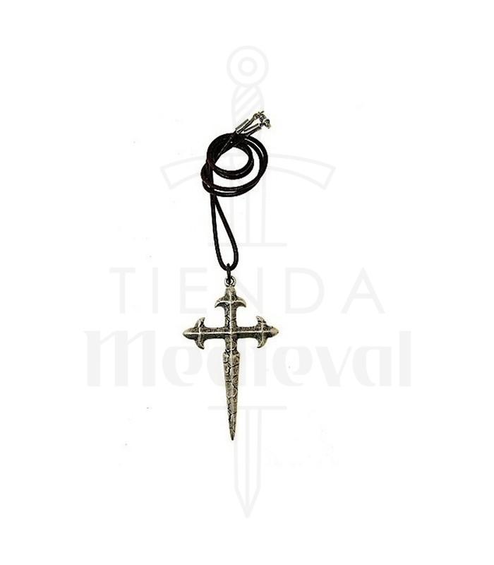e4e425124dba Colgante cruz de Santiago. Colgantes medievales - Colgantes
