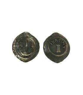 Moneda Semisse (6 cms.)