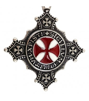 Colgante Cruz Templaria