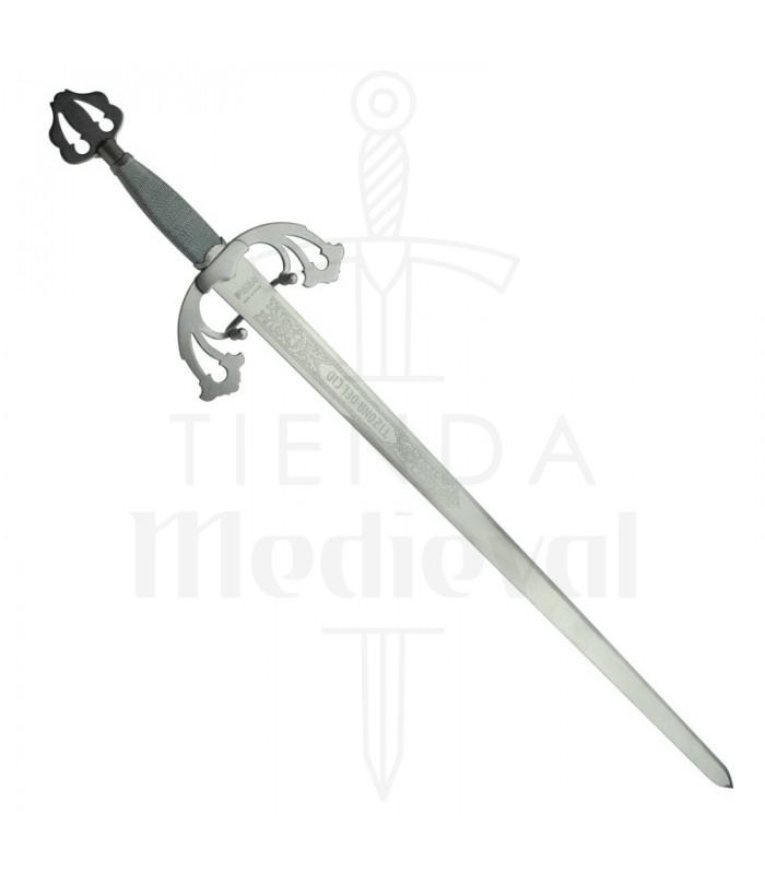 Espada Tizona Cid, acabado rústico