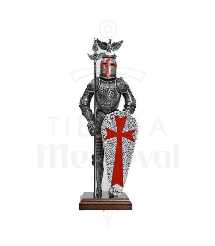 Armadura Templario Águila, 42 cms.