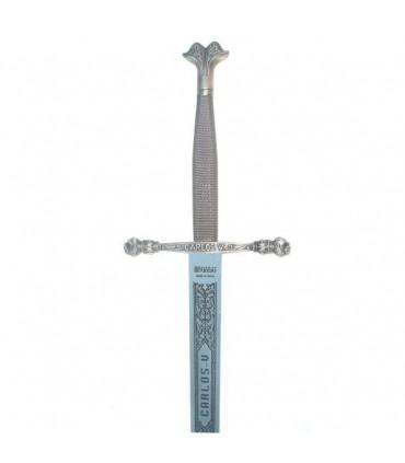 Espada Carlos V, acero inoxidable