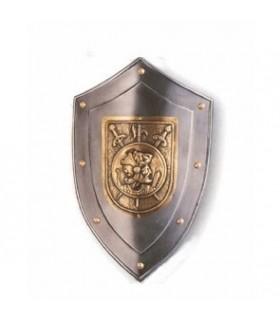 Escudo guerrero rústico