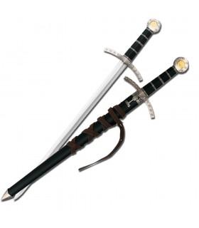 Kinder mittelalterlichen Schwert mit Scheide
