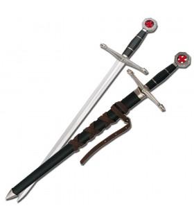 Espada templaria infantil con vaina