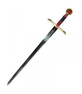 Espada Caballeros del Cielo cadete. 76,5 cms.