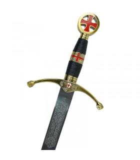 Espada de los cruzados. Tamaño cadete. 75 cms.