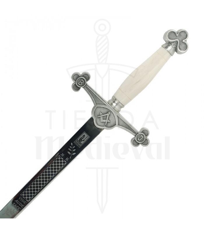Espada Logia Masónica plata