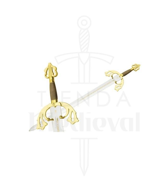 Espada Tizona del Cid en Oro