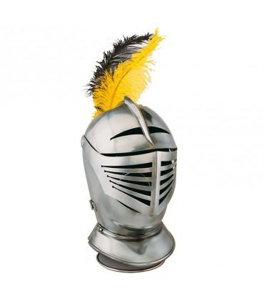 Casco guerrero liso siglo XVI