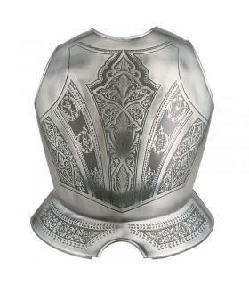 Peto de armadura grabado