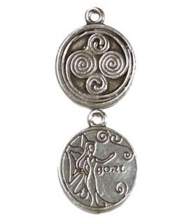Colgante Astrología Celta Gort