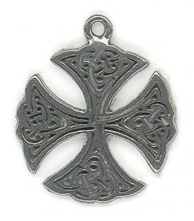 Colgante Celta Cruz Santa