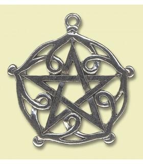Colgante celta El pentáculo de Brisingamen