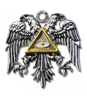 Colgante Templario Águila bizantina